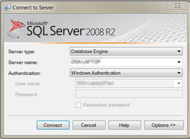 SQL System requirements 28